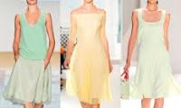 Цвет летнего платья